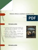 Historia clínica y examen mental actual 9 semestre 2019 (D)