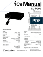 Technics Sl p999