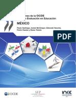 Revisiones sobre la evaluación en Educación en México OCDE
