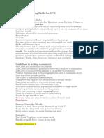 Summary Writing Skills for SPM