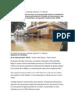 estudio y costo de un sistema de drenaje