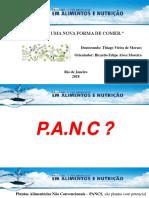 Apresentacao PANCS. Thiago Vieira de Moraes