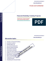 Financial Modeling by Corporate Briddge