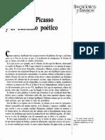 Apollinaire Picasso y El Cubismo Poetico 932844