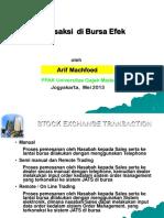 Transaksi Di Bursa