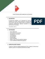 Ficha Tecnica Anticorrosivo