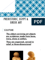 Prehistoric and Greek