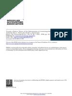 Watz Zimmerman Positive Accounting Theory