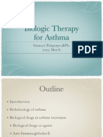 Biologic Therapy for Asthma