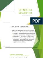 Estadística Descriptiva Variables Categóricas (1)
