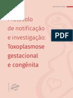 Protocolo Notificacao Investigacao Toxoplasmose Gestacional Congenita