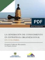 La generación de conocimiento
