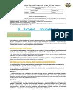 9° EL ESTADO COLOMBIANO 3 PERIODO