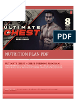 ULTIMATE CHEST Nutrition Plan by Guru Mann
