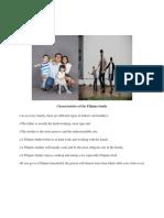Characteristics of the Filipino Family