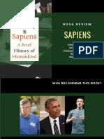 """Book Review """"Sapiens"""""""