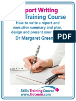 report writing training course