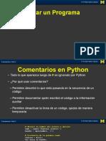 comentarios python
