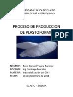 Proceso de Plastoformo