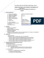 2018 II IF533AIN Sistemas Operativos I