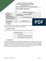 Lab #2 FPGA_Estructura de Modulos(Instancias)