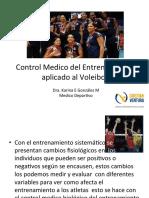 Control Medico Del Entrenamiento Aplicado Al Voley