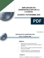 -Programa Diplomado en Administracion de La Calidad 2018
