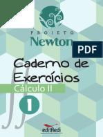 Caderno Exercícios Cálculo 2 - vol 1 - Projeto Newton