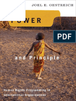 (Advancing Human Rights) Joel E. Oestreich - Power and Principle_ Human Rights Programming in International Organizations (Advancing Human Rights)-Georgetown Universit.pdf