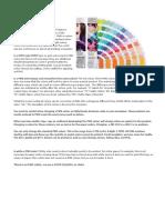 PMS Kleuren Aangepast Voor India