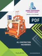 Shree Karpagam Engg. Construction - Brochure - 2018
