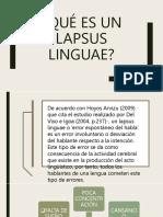 Diapositiva Monografia Lapsus Linguae