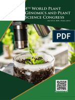 4th World Plant Genomics and Plant Science Congress | Osaka, Japan | May 20-21, 2020
