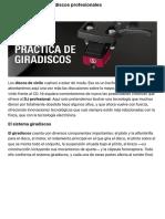 Guía práctica de giradiscos profesionales