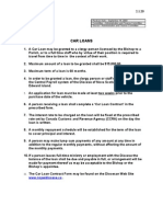 Car Loan Form