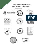 MI Trapper Education Manual 82307 206561 7