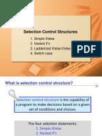 SelectionControlStructure.ppt