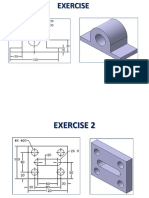 3D cad Exercise Part Design