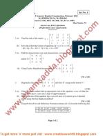 Mathematical Methods