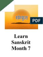 Learn sanskrit 7