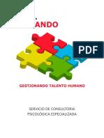 Servicio de Consultoria Psicologica - Pando
