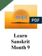 Learn sanskrit 9