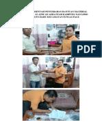 Laporan Dokumentasi Penyerahan Bantuan Material Rumah Tahfidz Al