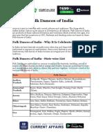 Folk Dances of India Ef370892