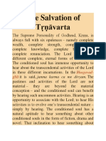 The Salvation of Tṛṇāvarta