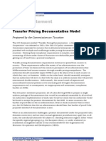 Transfer Pricing Documentation Model 180-498-Final