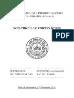 UGP  Non-Circular Vortex Rings