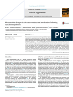 Measureable Changes in the Neuro-Endocrinal Mechanism Following Spinal Manipulation - 2015