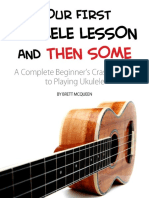 Your First Ukulele Lesson and Then Some