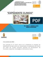 Nom-004 Exp. Clinico y Mecic